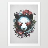 warrior Art Prints featuring Warrior by Tracie Andrews