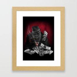 Mafia Of The Ape Framed Art Print