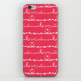 Love me tight Valentines iPhone Skin