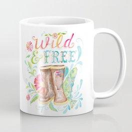 Wild and Free, Alaska Made Me Coffee Mug