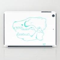 animal skull iPad Cases featuring animal skull by hunter.