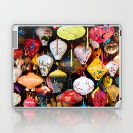 Lanterns of Hoi An, Vietnam III Laptop & iPad Skin