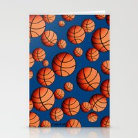 basketball Stationery Cards featuring Basketball by joanfriends