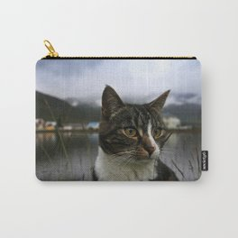 Icelandic Cat Carry-All Pouch