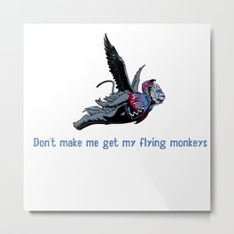 Flying monkeys Metal Print