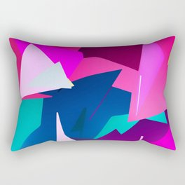 Rio Carnival, colorful party Rectangular Pillow