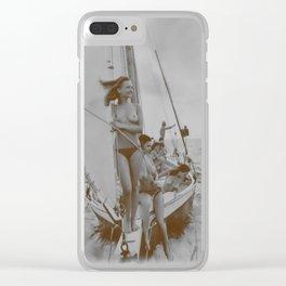 Siren Songs Clear iPhone Case