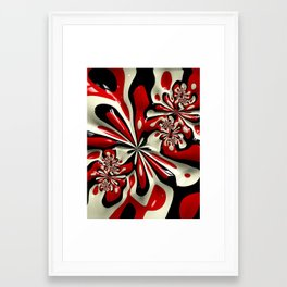 Red Moschino Splotch Framed Art Print
