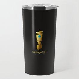 Pokal Sieger 2017 ! - Gold Edition Travel Mug
