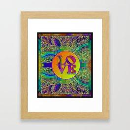 LOVE IN THE TIME OF ART DECO Framed Art Print