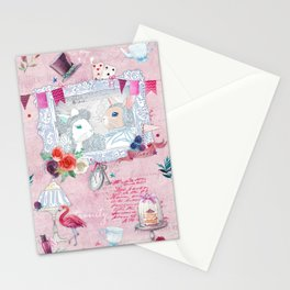 The White Rabbit Stationery Cards