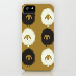 Sheep ochre iPhone Case