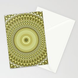 Fractal Kaleido Study 003 in CMR Stationery Cards