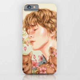 sun-kissed boy [haechan nct] iPhone Case