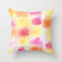 Sunset Orchard Throw Pillow