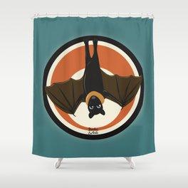 Batty wing Shower Curtain