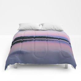 Sunset on Little Loon Comforters