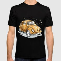 The Classic Beetle Mens Fitted Tee Black MEDIUM