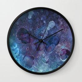 Umbriel Blue Wall Clock