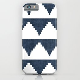 Lash in Navy Blue iPhone Case
