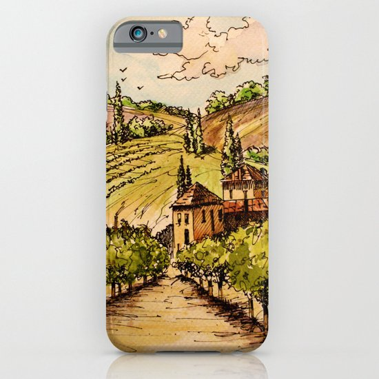 French Countryside iPhone & iPod Case