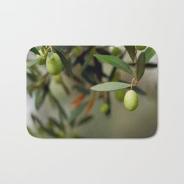 Olives On A Branch Bath Mat