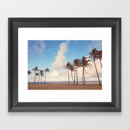Kauai Palm Trees Framed Art Print