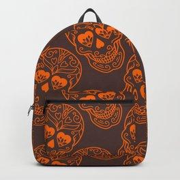 Abstract Skull Monster Backpack