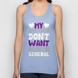 MY ANACONDA DON'T WANT NONE IN GENERAL T-SHIRT Unisex Tank Top