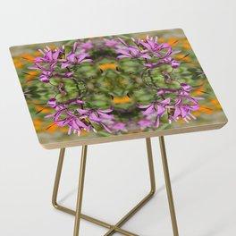 PASTEL PURPLE FLOWER  Side Table