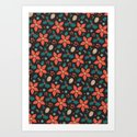 Deck the Halls - Black Background (Patterns Please) by lalainelim