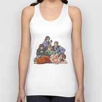 breakfast club Tank Tops featuring The Breakfast Club by Heidi Banford