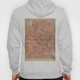 Vintage Map of Vienna Austria (1920) Hoody