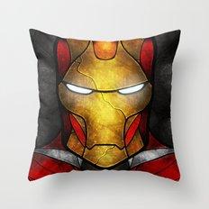 The Iron Man Throw Pillow
