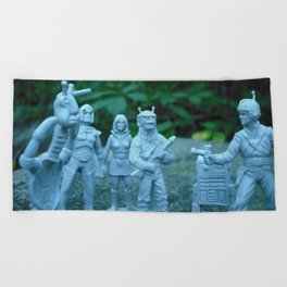 Interstellar Arrest Beach Towel