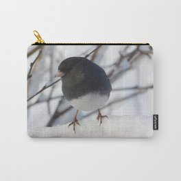 Wintery Junco Carry-All Pouch