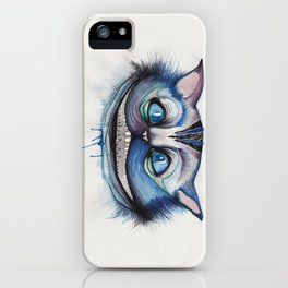 Cheshire Cat Grin - Alice in Wonderland iPhone Case
