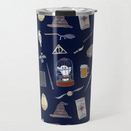 Harry Pattern Night Travel Mug