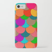 circles iPhone & iPod Cases featuring Circles.  by Eleaxart