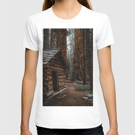 Log Cabin in the Giant Forest T-shirt
