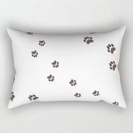 Paws All Over Rectangular Pillow