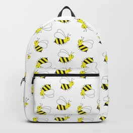Bumble Bee Pattern Backpack
