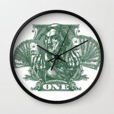 One Dolla Bill Wall Clock