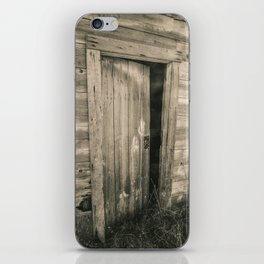 A Door to the Past, Sepia iPhone Skin