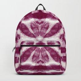Tie-Dye Burgundy Twos Backpack