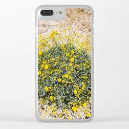 Super Bloom 7290 Paradise Joshua Tree Clear iPhone Case