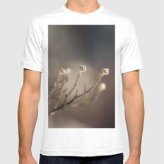 A Winter's Promise MEDIUM Mens Fitted Tee White