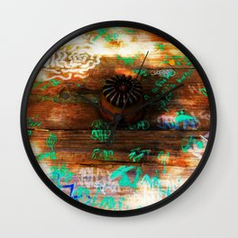 American Picnic Wall Clock