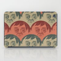 it crowd iPad Cases featuring CROWD by Renato Klieger Gennari