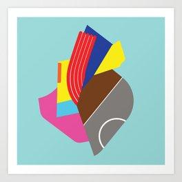 Heart (illustration) Art Print